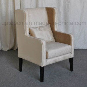 Living Room Furniture Chair with Solid Wood Chair Leg and Armrest (SP-HC443) pictures & photos