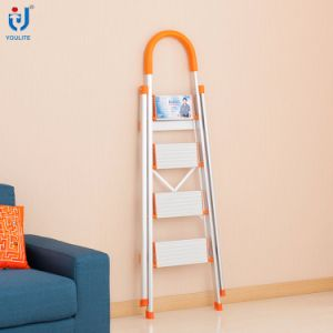 En131 Approved Multi-Fuction Household Foldable Aluminium Stepladder pictures & photos