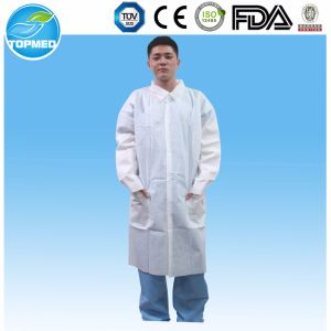 Nonwoven Lab Coat, Protective Gown, Working Gown pictures & photos