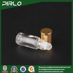 3ml Clear Deodorant Packing Glass Vial Empty Cosmetic Perfume Glass Bottle with Aluminum Cap 3ml Glass Roll on Oil Bottle pictures & photos