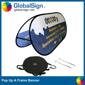 Wholesale Popular Advertising Display Pull up Banner a Frame pictures & photos