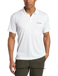 Polyester Dry-Fit Mens Polo Shirt with Custom Logo pictures & photos