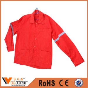 Gray Tapes Oilfield Reflective Safety Workwear Jacket Industry Work Uniform pictures & photos