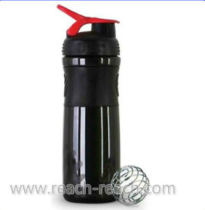 Sports Water Bottle, Plastic Protein Blender Shaker Bottle (R-S045) pictures & photos