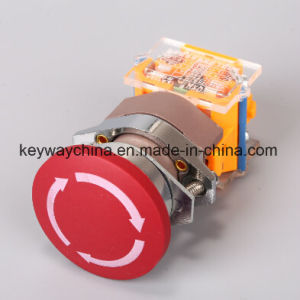 Dia22mm-La118AEM4 Emergency Push Button Switch, Red, Green Colors, 6V-380V Voltage pictures & photos