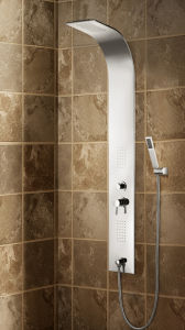Stainless Steel Panel in Mirror Finish Concealed Shower Column (K2606) pictures & photos