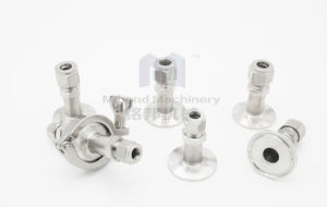 High Quality Compact Union Stright Male Thread Ss Compression Fitting pictures & photos
