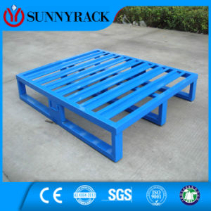 Durable and Low-Cost Warehouse Storage Steel Pallet for Rack pictures & photos