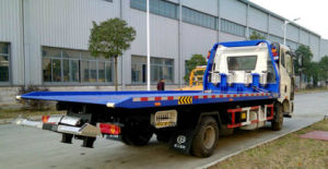 FAW One Drag Two Road - Block Removal Truck pictures & photos