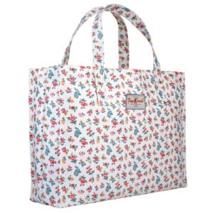 Large Capacity Waterproof Canvas Floral Pattern Travel Bag (68140) pictures & photos