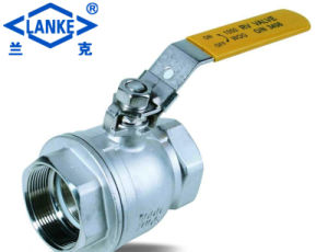 2PC Korea Type 1000 Psi Float Ball Valve in Reduce Bore pictures & photos