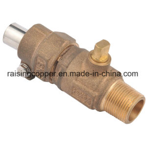 Bronze Corporation Stop Valve with Campak Connections pictures & photos