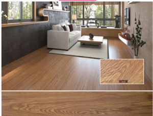 Dark Color Wax Series Laminate Flooring Tile pictures & photos