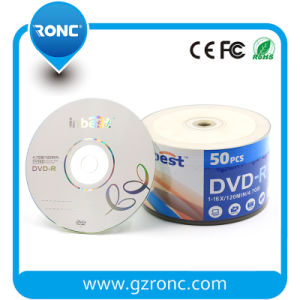Promotional Blank DVD 4.7GB with 50PCS Shrinkwrap Package pictures & photos