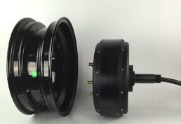 Brushless Commutation Motor Type Electric Wheel Hub Motor Car