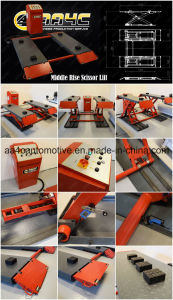 Middle Rise Scissor Lift with Movable Trolly  (AA-TCL3100A) pictures & photos