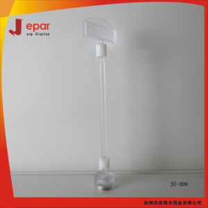 Retail Cheap Clear Pop Plastic Price Label Holder pictures & photos