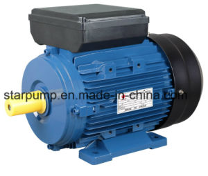 Aluminum Housing Single Phase Electric Motor pictures & photos
