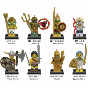 High Quality ABS Atlantis Minifigures Brick Toys with 8 Characters Design X0161 pictures & photos