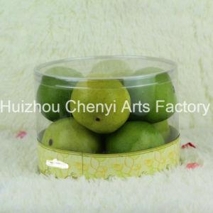 Transparent PVC Box Decorated with Artificial Fruit pictures & photos