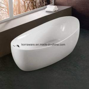 (K1518) Freestanding Acrylic Bathtubs / Massage Whirlpool Bathtubs pictures & photos