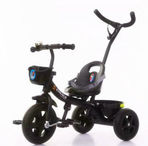 Cheap Children Tricycle Kids Trike Baby Tricycle with Push Bar pictures & photos