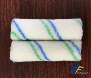 4′′ Polyester Mini Green-Blue Stripe Paint Roller pictures & photos