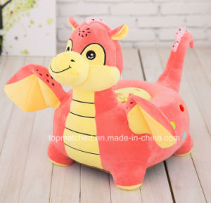 Children′s Bean Bag Chair Pink Soft Plush Chair Birthday Gifts Kids Comfortable Plush Dragon Sofa pictures & photos
