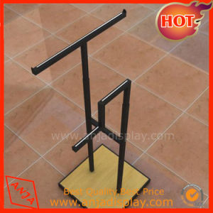 Retail Clothes Hangers Stand Stainless Steel Display Rack for Shop pictures & photos