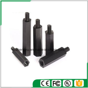 M4 Nylon Hex Threaded Female to Male Standoff/Spacer (Color: Black) pictures & photos
