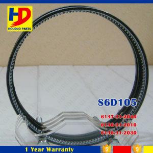 6D105 6D105-1 6D105-5 Diesel Engine Piston Ring for Komatsu Engine (6137-31-2040 6136-31-2010) pictures & photos