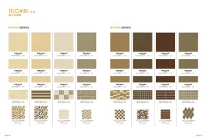 Building Material Porcelain Tiles 300*300mm Anti-Slip Rustic White Color Tile pictures & photos