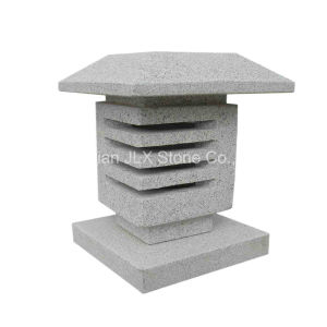 Natural Grey Stone Granite Lantern for Garden pictures & photos
