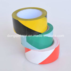 Yellow-Black Danger Signal Tape for Floor Warning pictures & photos