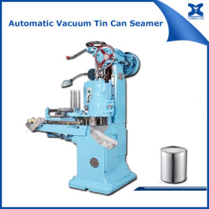 Automatic Vacuum Tin Can Seaming Machine pictures & photos