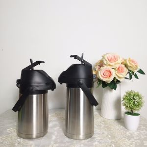 Insulated Vacuum Airpot Thermos Flask with Lever (ASUU) pictures & photos