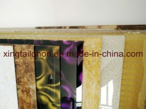 Fashion Cut Glass Coated Glass Furniture Glass pictures & photos
