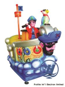 Game Machine Kiddie Ride Private Ship Gaming (ZJ-K22) pictures & photos