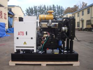 15kw Open Type Diesel Generator Set with 490D Diesel Engine pictures & photos