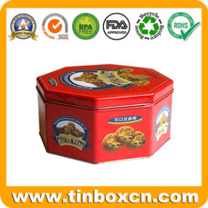 Cookies Tin for Gift Tin Packaging, Biscuit Tin Box pictures & photos