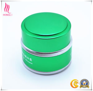 Light Green Aluminum Whitening Cream Container pictures & photos
