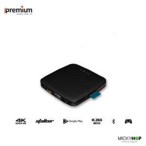 Ipremium Migo Android IPTV Ott Support 4k Bluetooth Stalker Sever 64-Bit STB 1+8g pictures & photos