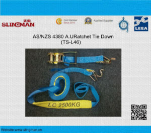 5t Ratchet Tie Down with Flat Hook pictures & photos