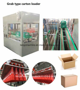 Automatic 5carton/M 10carton/M Grab Type Carton Case Sucker Type Loading and Sealing Packing Machine pictures & photos