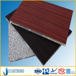 Beautiful Wood Grain HPL Aluminum Honeycomb Panels for Boat Decoration pictures & photos
