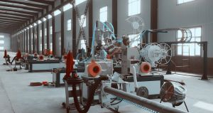 Large Diameter HDPE/PP Structured- Wall Winding Pipe Production Line pictures & photos