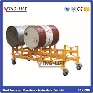 Steel Frame Material Drum Stacking Rack Dolly pictures & photos
