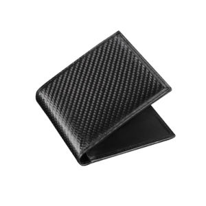 Unisex Gender Carbon Fiber Leather Material Luxury Wallet pictures & photos