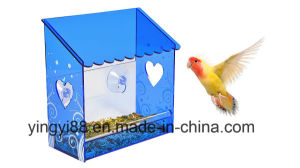 Yyb Acrylic Window Bird Feeder with Drain Holes pictures & photos