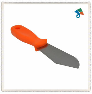Carbon Steel Blade Plastic Handle Hand Putty Knife Scraper pictures & photos